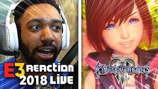 KINGDOM HEARTS KAIRI REVEAL LIVE REACTION! - SONY [E3 2018]