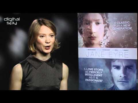 "Jane Eyre's Mia Wasikowska ""goofed around"" with Michael Fassbender"