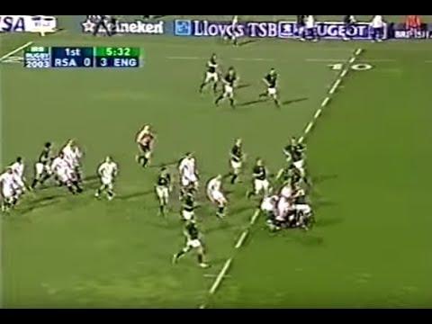 RWC 2003 England vs South Africa-25-6
