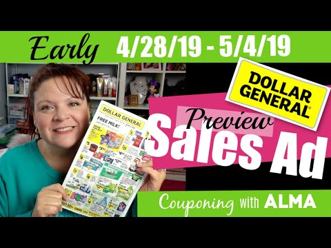 EARLY Dollar General Sales Ad Preview 4/28/19 - 5/4/19