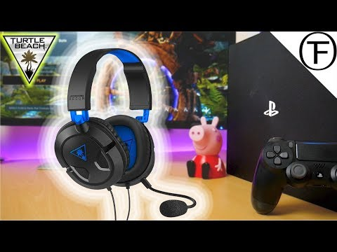 The Turtle Beach Recon 50P Gaming Headphones