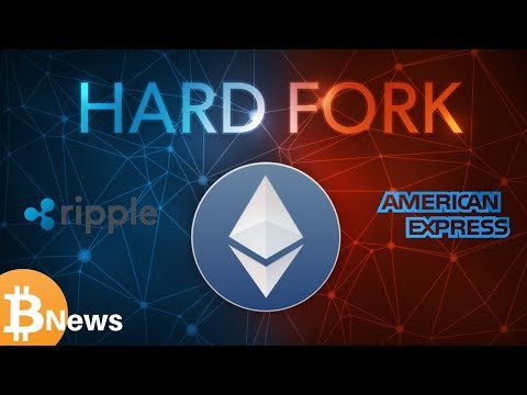 Ripple XRP & American Express? ETH Constantinople Hard Fork - Today's Crypto News