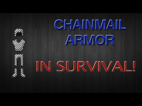 (1.6.4) How To Get Chain Mail Armor In Minecraft Survival