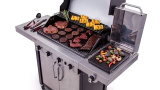Char-Broil Commercial Series 4-Burner Gas Grill - Lowe's Exclusive