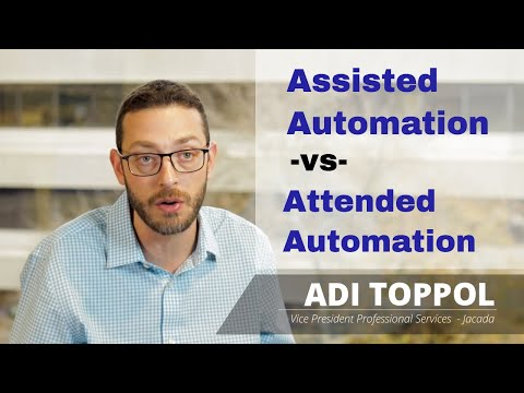 Attended and Unattended Automation - Differences in Robotic Process Automation