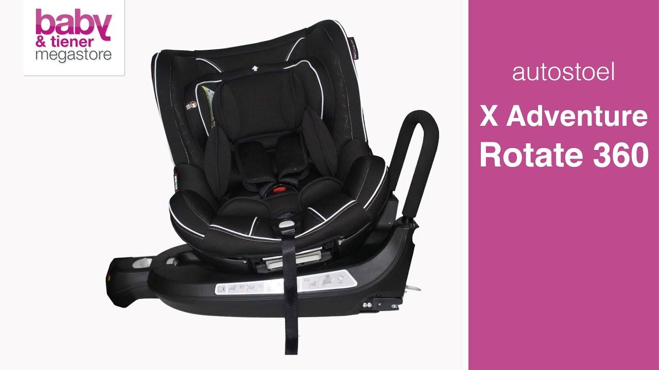 X Adventure Kinderstoel.X Adventure Rotate 360 Autostoel