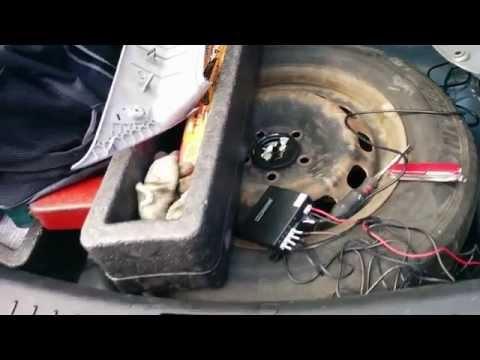 отчет об установке парктроника Parkmaster FJ 47 форд фокус 2 (ford focus 2) хетчбек рестайлинг