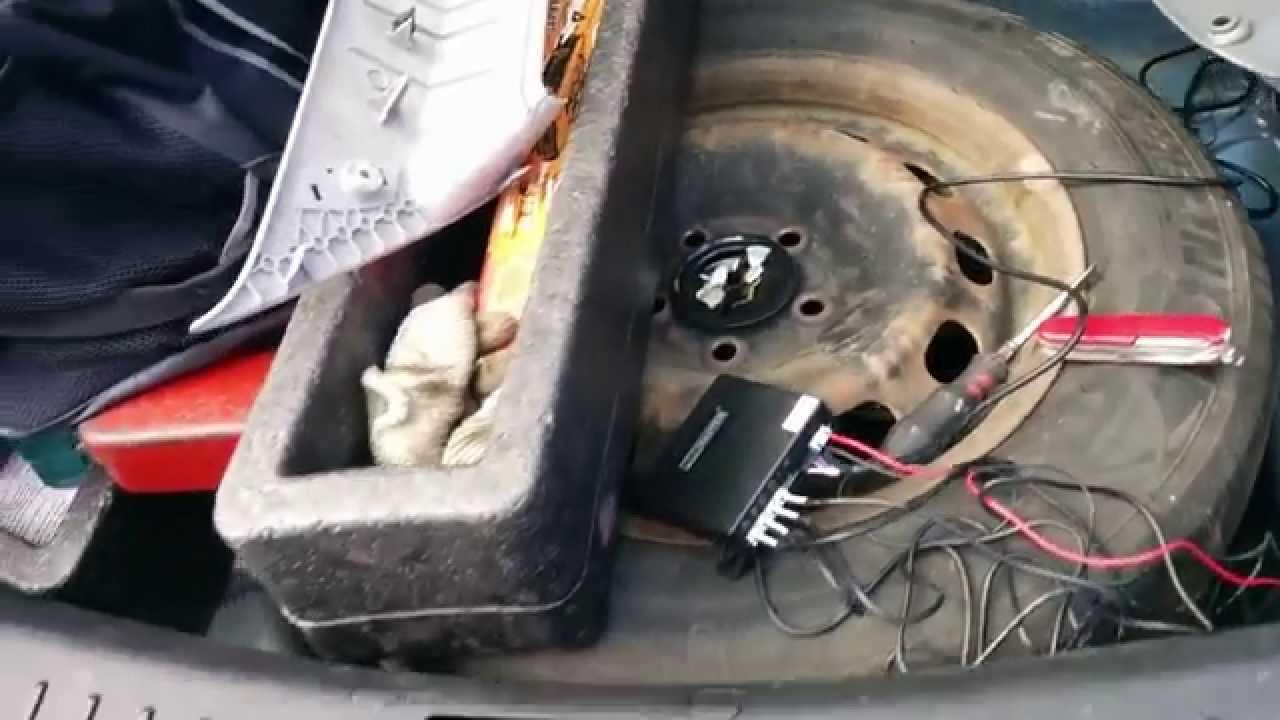 парктроник схема подключения видео