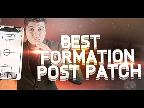 Best Formation Post Patch : FIFA - reddit