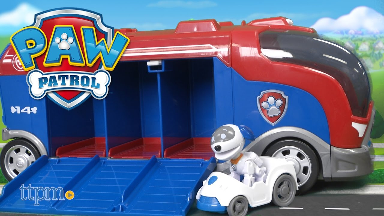 Paw Patrol Mission Paw Mission Cruiser Playset with Robo Dog!