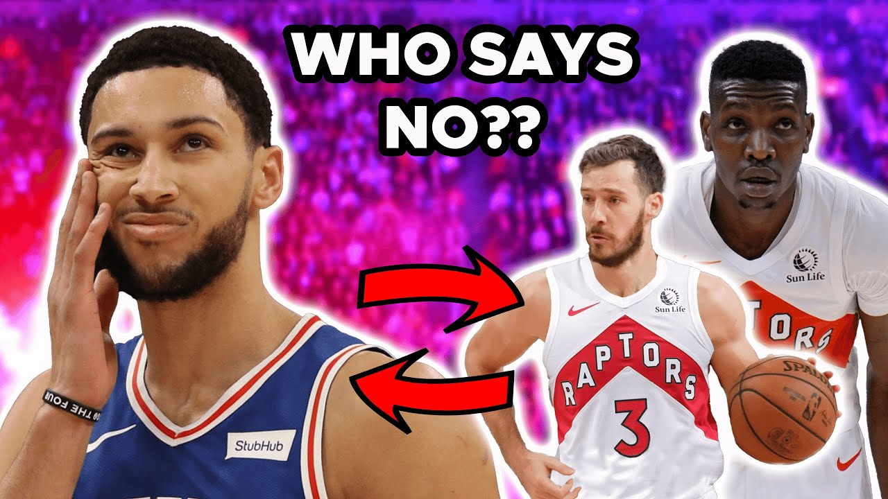 Ben Simmons for Dragic and Boucher... Who Says NO to Unrealistic Raptors Sixers TRADE?!?!