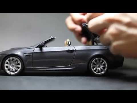 Kyosho 1/18 diecast BMW M3 E93 convertible