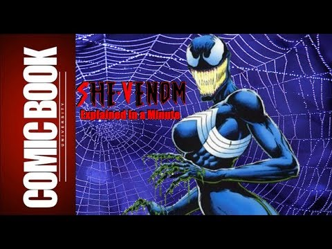 She-Venom (Explained in a Minute) | COMIC BOOK UNIVERSITY