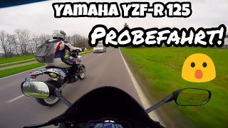 Motovlog   Yamaha YZF-R 125   Probefahrt!