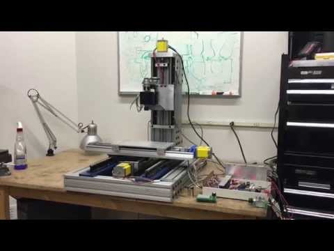 DIY CNC Mill Build Description