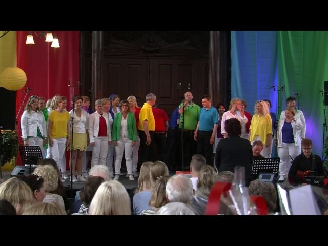 Popkoor Yes, Lustrum Concert, 13 mei 2017 concert 1, set 1 deel 1