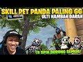 OVERPOWER! PET PANDA SKILL HEALING GILA DARAH AUTO FULL! - Garena Free Fire