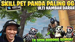 Gambar cover OVERPOWER! PET PANDA SKILL HEALING GILA DARAH AUTO FULL! - Garena Free Fire