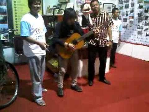 Ariv Kotu - Sendiri Lagi ( Cover Chrisye ) at Jakarta Library And Archive Expo