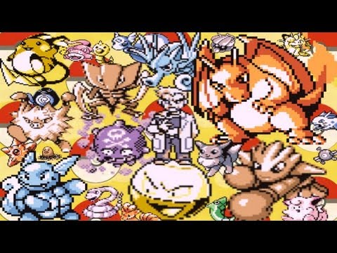 Top Ten Pokémon Red And Blue Sprites