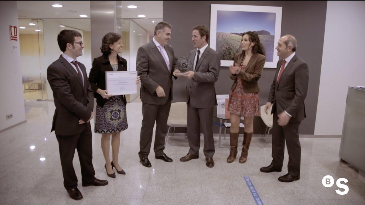 Premio qualis a la mejor oficina banco sabadell for Oficina 5488 banco sabadell