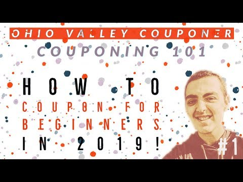 How to Coupon for BEGINNERS in 2019!- EVERYTHING You Need To Know!