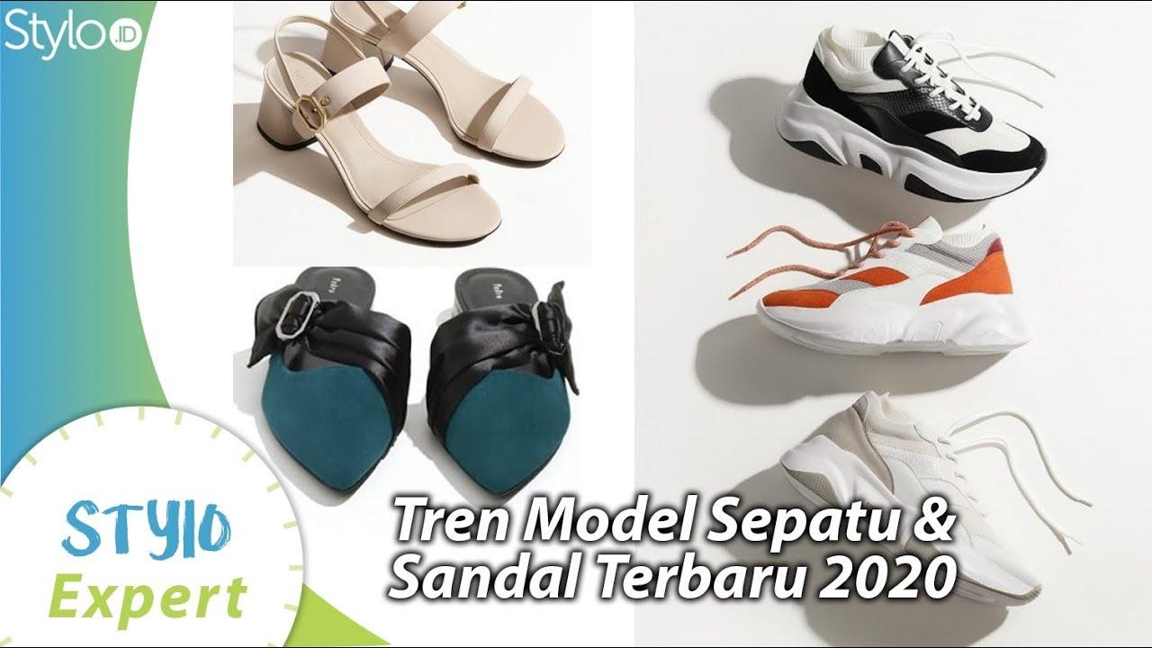 Model Sepatu Sneakers Sandal Untuk Wanita Yang Jadi Tren Fashion