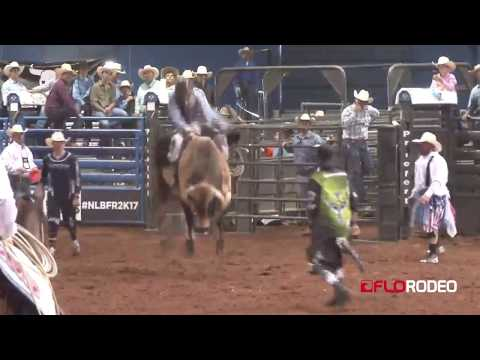 Blake Young 79 bull ride at National Little Britches Rodeo 2017