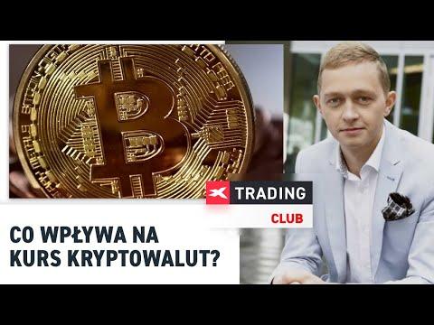 Co wpływa na kurs kryptowalut? Szczepan Bentyn na XTB Trading Club 6.07.2017