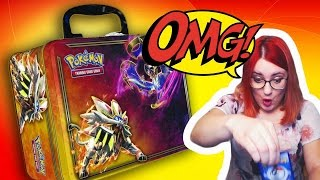 NOWY  Sun & Moon Collector's Chest Spring 2017 - NAJLEPSZY Opening Kart Pokemon