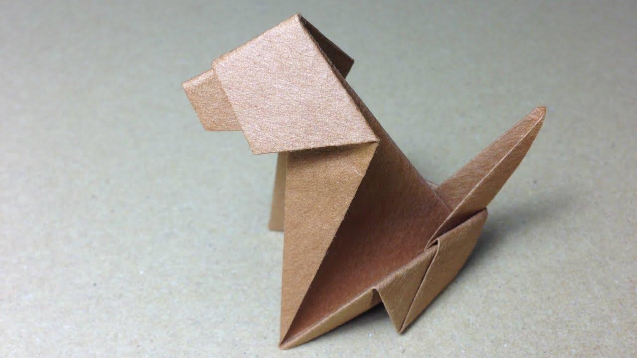Origami Dog Instructions