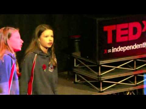 Softball Ted x Speech by a young British girl
