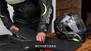 OSAH 드라이팩 방수 라이더백팩(헬멧수납형)30L