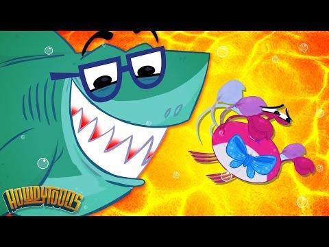 Baby Shark Song | Faster Baby Shark Faster! | Original Baby Shark | Songs for Kids from Howdytoons