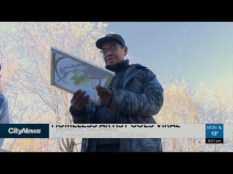 Winnipeg man discovers homeless artist