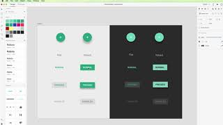 Adobe XD tutorial: How to use Material Design Buttons