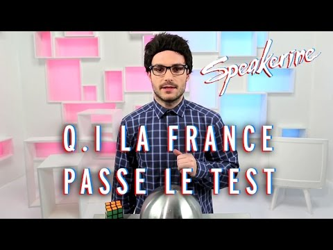 Q.I, la France passe le test - Speakerine