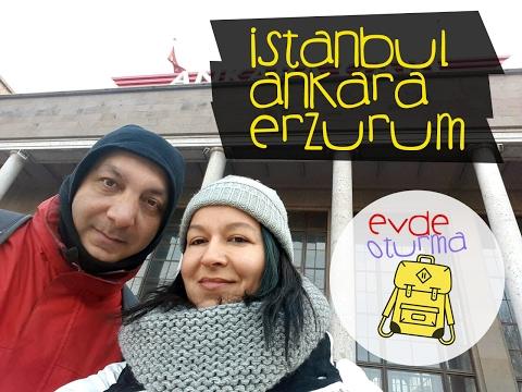 Doğu Ekpresi ile Erzurum, 27 saat