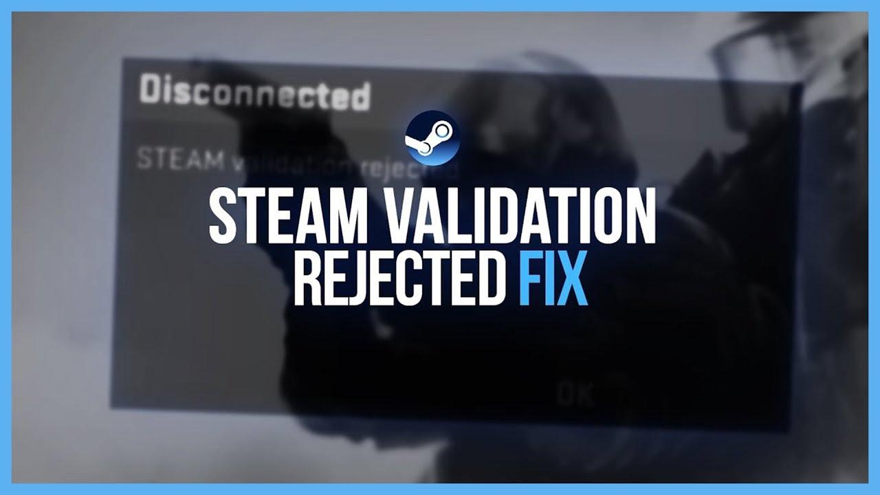 Error validating steam user id ticket