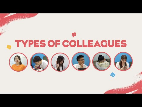 When boss calls out for meeting | 5 Types of Colleagues
