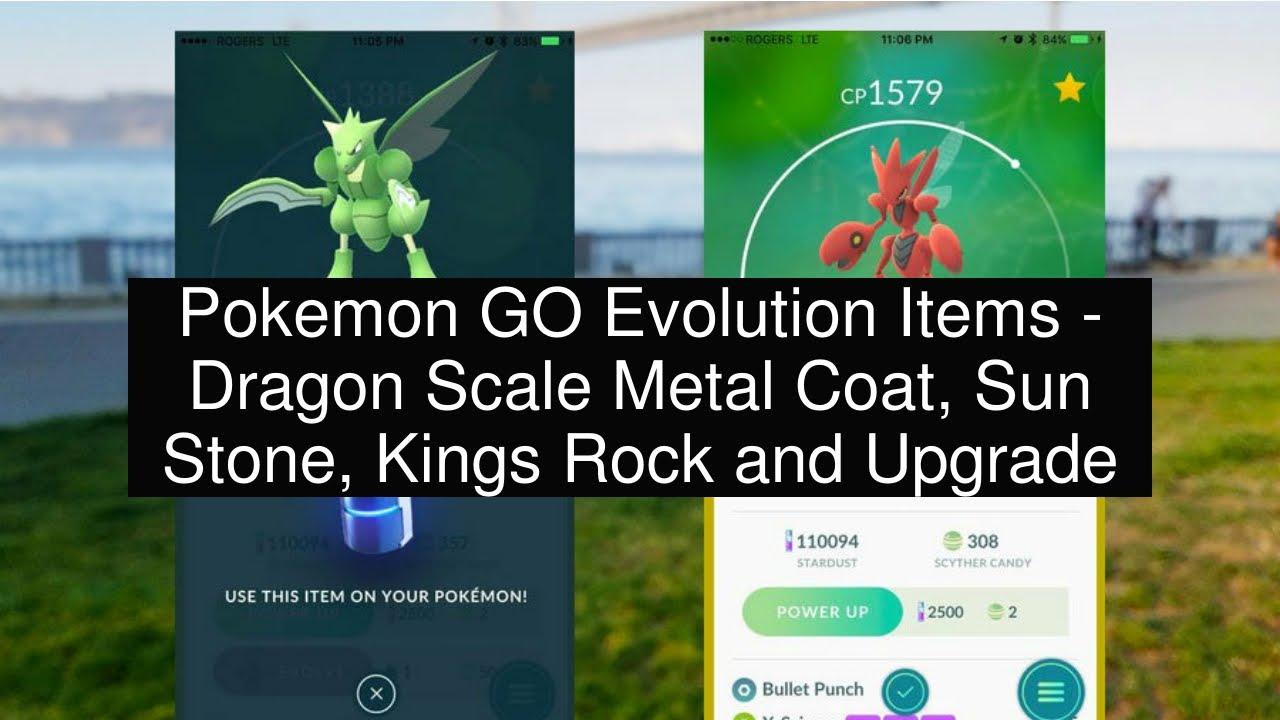 a0c144ea4d7 Pokemon GO Evolution Items - Dragon Scale Metal Coat