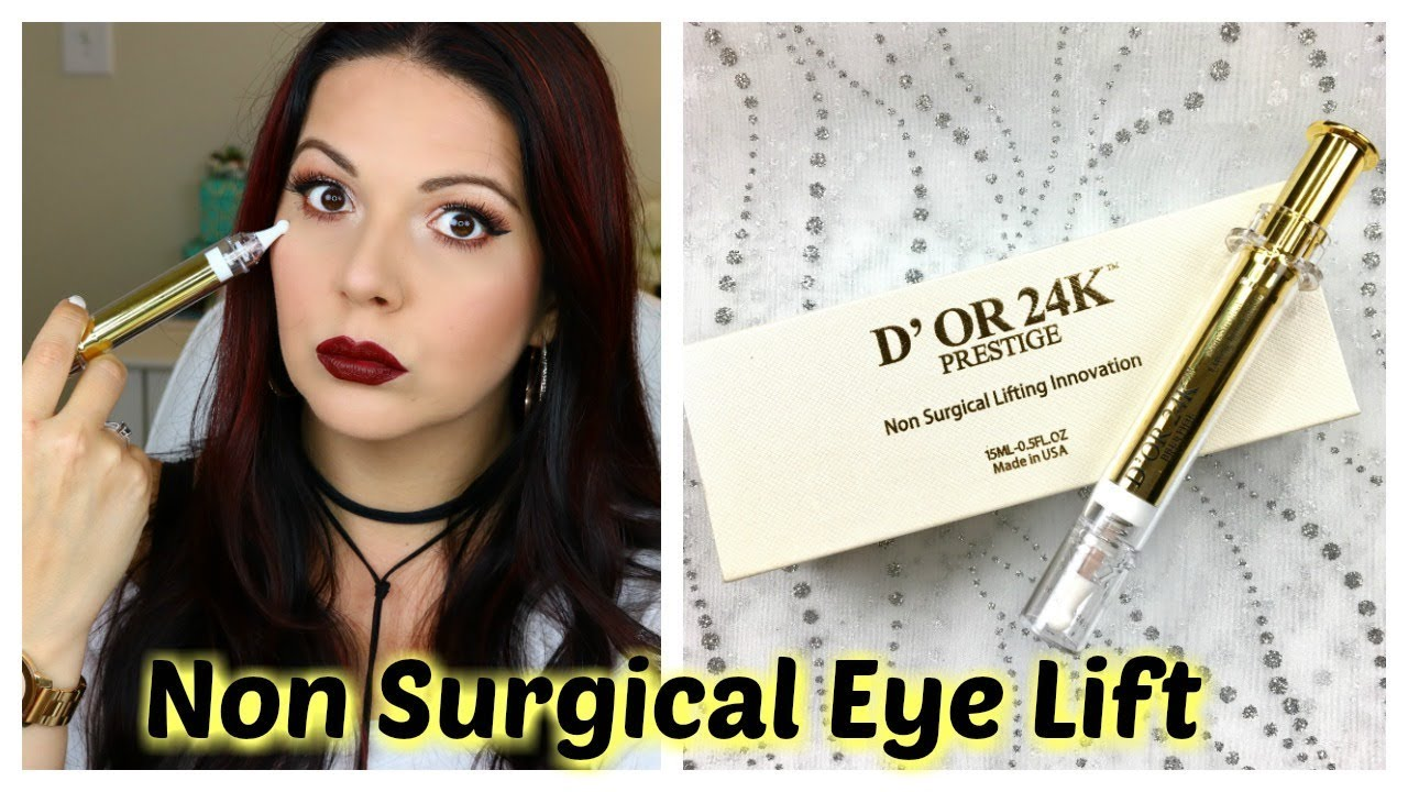 Non-Surgical Eye Lift Syringe Review - D'Or 24K Prestige | Leticia