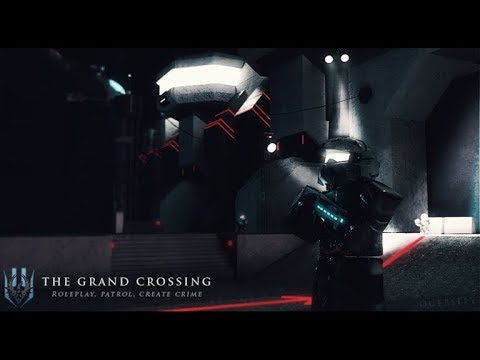 ROBLOX Gameplay The Grand Crossing // BORDER ROLEPLAY