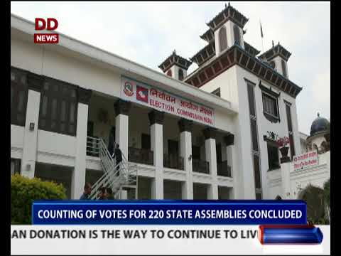 Counting of votes for Nepal's parliamentary & provincial elections concludes