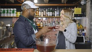 Class Up Your Party Punch With Jef Tate's Sorrel Recipe    In The Kitchen