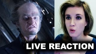 A Series of Unfortunate Events Netflix Teaser Olaf - REACTION