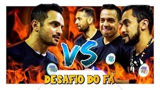 Falcão e Fãs VS Lucas BZK, Diego Freestyle e Jukanalha!