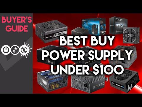 Best Power Supply Under $100 - July 2016