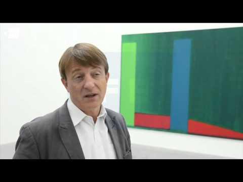 Los intensos colores de John Hoyland inundan Londres