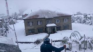 #lahauldisaster2018 | SNOWFALL ON APPLE HARVEST - LAHAUL DISASTER 2018 | Lets Grow Apple